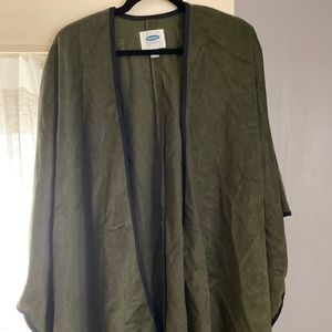 Old Navy Olive draped cape